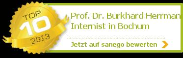Prof. Dr. Burkhard Herrmann, von sanego empfohlen