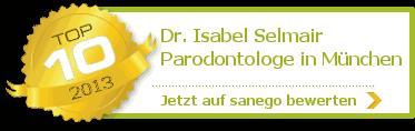 Dr. med. dent. Isabel Selmair, von sanego empfohlen