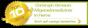 Christoph Ormanin, von sanego empfohlen