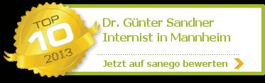 Dr. med. Günter Sandner, von sanego empfohlen
