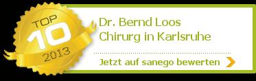 Dr. med. Bernd Loos, von sanego empfohlen