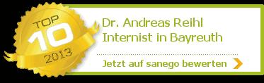 Dr. med. Andreas Reihl, von sanego empfohlen