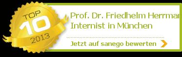 Prof. Dr. med. Friedhelm Herrmann, von sanego empfohlen
